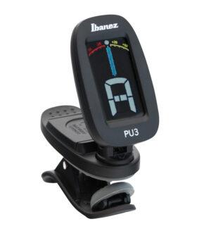 IBANEZ Chromatisches / Automatisches Clip Stimmgerät Black