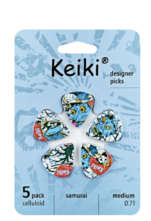 "KEIKI ""Samurai"" Picks 5 Stück"