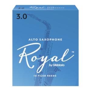RJB1010 Rico Royal Alt-Saxophonblätter, Stärke 1,0, 10er-Packung