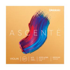 A314 4/4M D'Addario Ascenté G-Saite für Geige, 4/4, mittlere Spannung