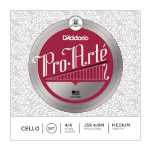 J59 4/4M D'Addario Pro-Arte Cello-Saiten 4/4