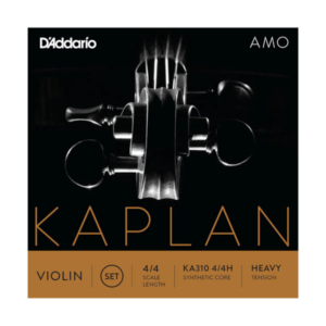 KA310 4/4H D'Addario Kaplan Amo Violin Saiten Satz 4/4 Größe, straffe Spannung