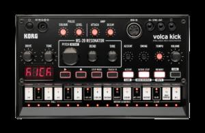 KORG Synthesizer, analog, volca kick, KickBass-Sounds, Sequenzer