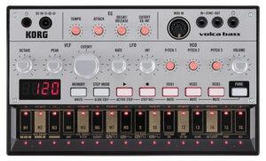 KORG Synthesizer, analog, volca bass, Bass Sounds, Sequenzer