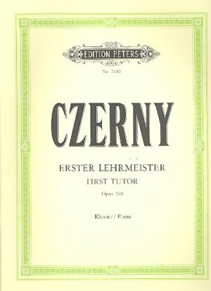 Czerny, Carl Erster Lehrmeister op.599 für Klavier