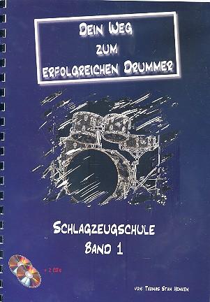 Hemken, Thomas Stan Dein Weg zum erfolgreichen Drummer Band 1 (+2 CD's)
