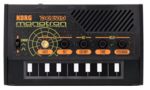 KORG Synthesizer, analog, monotron Delay, 1-stimmmig