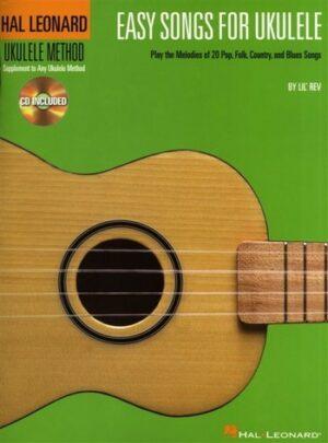 Easy Songs (+CD) for ukulele/tab