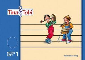 Tina und Tobi Notenheft 1 (1 System)