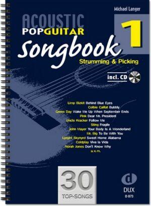 Acoustic Pop Guitar Songbook vol.1 (+CD): for guitar/tab