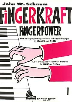 Schaum, John Wesley Fingerkraft Band 1 für Klavier/Orgel Progressiv geordnete technische Übungen