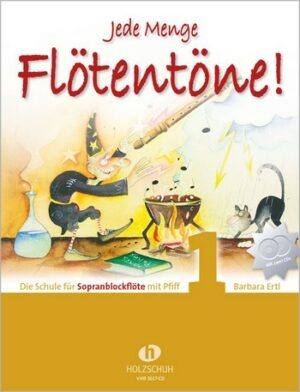 Ertl, Barbara Jede Menge Flötentöne Band 1 (+2 CD's)