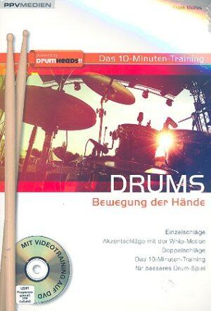 Mellies, Frank Drums - Bewegung der Hände (+DVD) für Schlagzeug