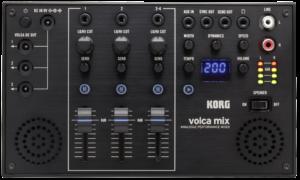 KORG Mixer, volca mix, 4 Kanäle, mit Effekten, für volca Serie