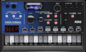 4959112187368 KORG Synthesizer, analog, volca nubass, Vacuum Tube Synthesizer, Sequenzer