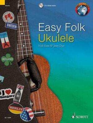 Easy Folk Ukulele (+CD) für Ukulele