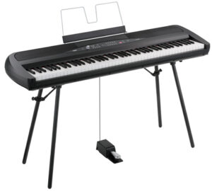 KORG Digitalpiano, SP280, 2x22 Watt, Ständer, schwarz