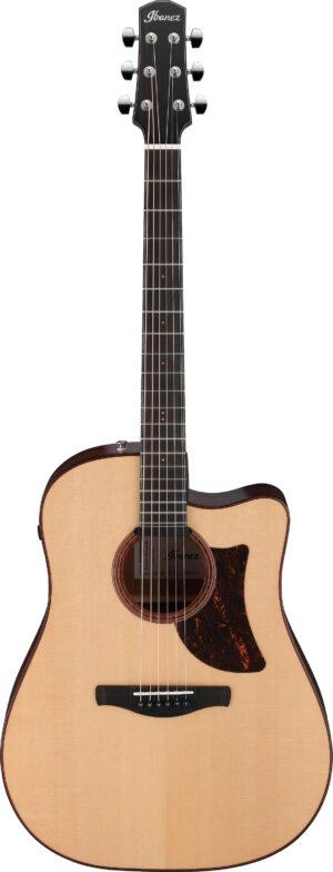 IBANEZ Advanced Acoustic Serie Grand Dreadnought Cutaway Akustik Gitarre 6 String + Preamp Natural Low Gloss