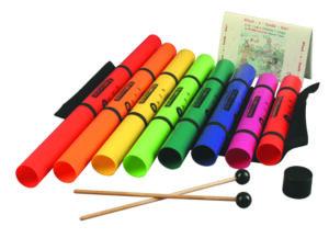 Boomophone Whack Pack Diatonischer Grundsatz BW-DG XyloTote Tube Holder XT-8G Whacker Mallets ML-1G eine Octavator Kappe Songbook