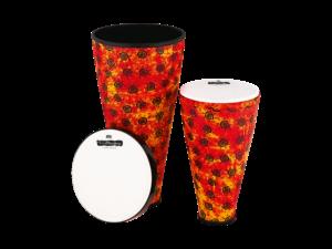 MEINL VivaRhythm BOOM SERIE Stack Drum Set 24 cm und 30,5 cm