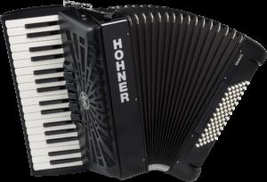 HOA16622 HOHNER Akkordeon, Bravo III 72, schwarz, silent key