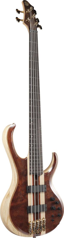 IBANEZ BTB Premium Series E-Bass 5 String Natural Shadow Low Gloss + Bag