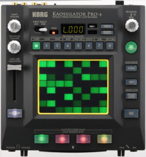 KORG Synthesizer, digital, KAOSSILATOR PRO+, USB/MIDI, 4 Spur