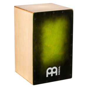 MEINL Percussion Snarecraft 100 Cajon - Special Edition Green Burst
