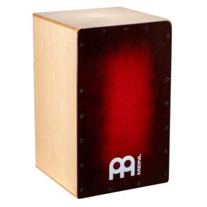 MEINL Percussion Snarecraft 100 Cajon - Special Edition Red Burst