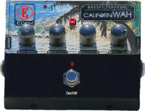 EDEN Effektpedal, für Bass, CaliforniWah, Bass Filter, Wah Pedal