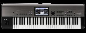 KORG Synthesizer, digital, KROME EX 61, USB, 61 Tasten, Grau Metallic