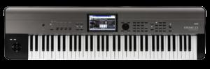 KORG Synthesizer, digital, KROME EX 73, USB, 73 Tasten, Grau Metallic