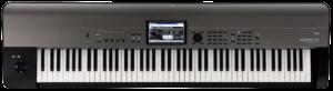 KORG Synthesizer, digital, KROME EX 88, USB, 88 gewichtete Tasten, Grau Metallic
