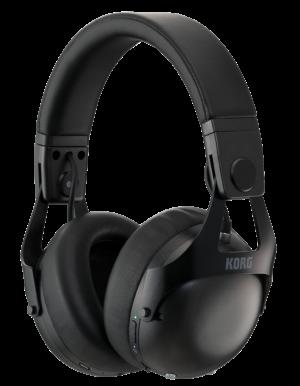 KORG Kopfhörer, NC-Q1, Noise Cancelling, Bluetooth, schwarz, für DJs