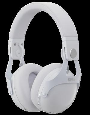 KORG Kopfhörer, NC-Q1, Noise Cancelling, Bluetooth, weiß, für DJs