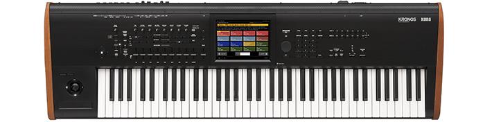 KORG Synthesizer, digital, KRONOS 2015, Sampler, 73 Tasten
