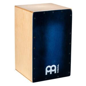 MEINL Percussion Snarecraft 100 Cajon - Special Edition Blue Burst