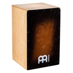 MEINL Percussion Snarecraft 100 Cajon - Special Edition Brown Burst
