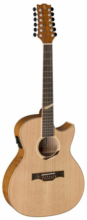 12-Saitige Westerngitarre BATON ROUGE X6C/ACE-12 mystique