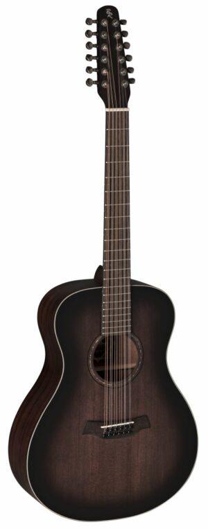 12-String Westerngitarre BATON ROUGE X11LS/F-AB-12 antique brown