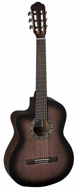 Klassik Gitarre 4/4 Cutaway Linkshänder LA MANCHA Granito 32-CEN-AB-L
