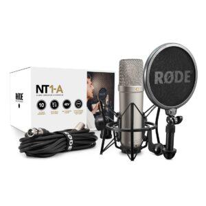 Røde NT1-A Großmembran-Kondensatormikrofon mit Nierencharakteristik