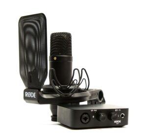 Recording-Set bestehend aus NT1 (Mikrofon) und AI-1 (Audio-Interface) Røde NT1/AI-1 Complete Studio Kit