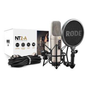Großmembran-Kondensatormikrofon mit schaltbarer Richtcharakteristik Røde NT2-A