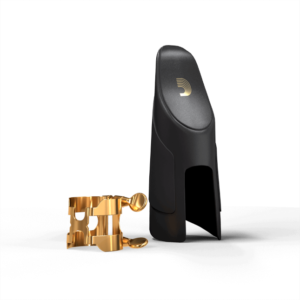 HTS1G D'Addario H-Blattschraube & Kappe, Tenorsaxophon (Hartgummi-Mundstücke), Gold