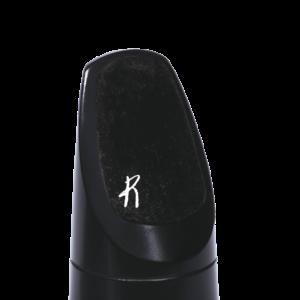 RMP01B Reserve Mundstück-Bissgummi - schwarz (0,80 mm) - 5 Stück