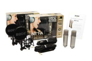 2 selektierte Großmembran-Kondensatormikrofone (Stereopaar)Røde NT1-A/MP