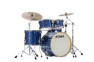TAMA Superstar Classic Maple Drumset 5teilig Indigo Sparkle/Chrom Hardware