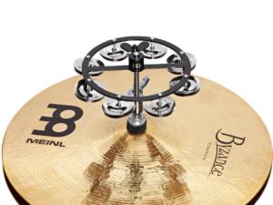 MEINL Percussion HiHat Tambourine 1 reihig Stahlschellen