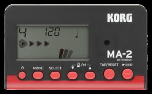 KORG Metronom, MA-2, digital, schwarz/rot